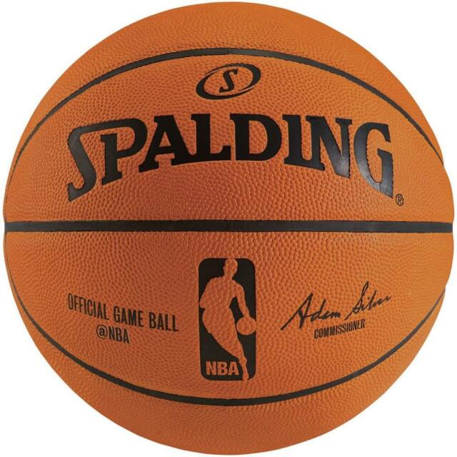 f6c27c816b4 NBA Rubber Game Basketball Size 7 Outdoor From Spalding