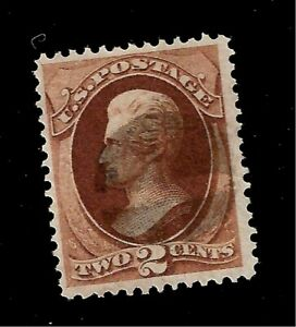 US1870-Sc-146-2c-JACKSON-USED-NBN-Crisp-Color-Light-Cancel