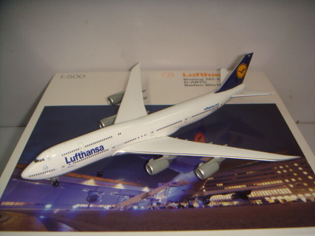 cómodo Herpa Wings 500 Lufthansa LH B747-8 B747-8 B747-8  1990s Color-Baden-Wurttemberg  1 500 NG  precios ultra bajos