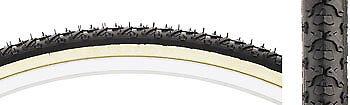 New Kenda K161 KrossCyclo Tire 27x1 3//8 Steel Bead Black//Tan