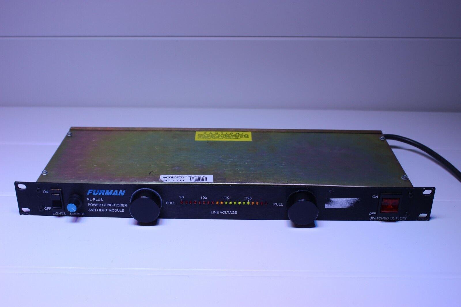 Furman PL-PLUS Rack Mount 8 Outlet Power Conditioner