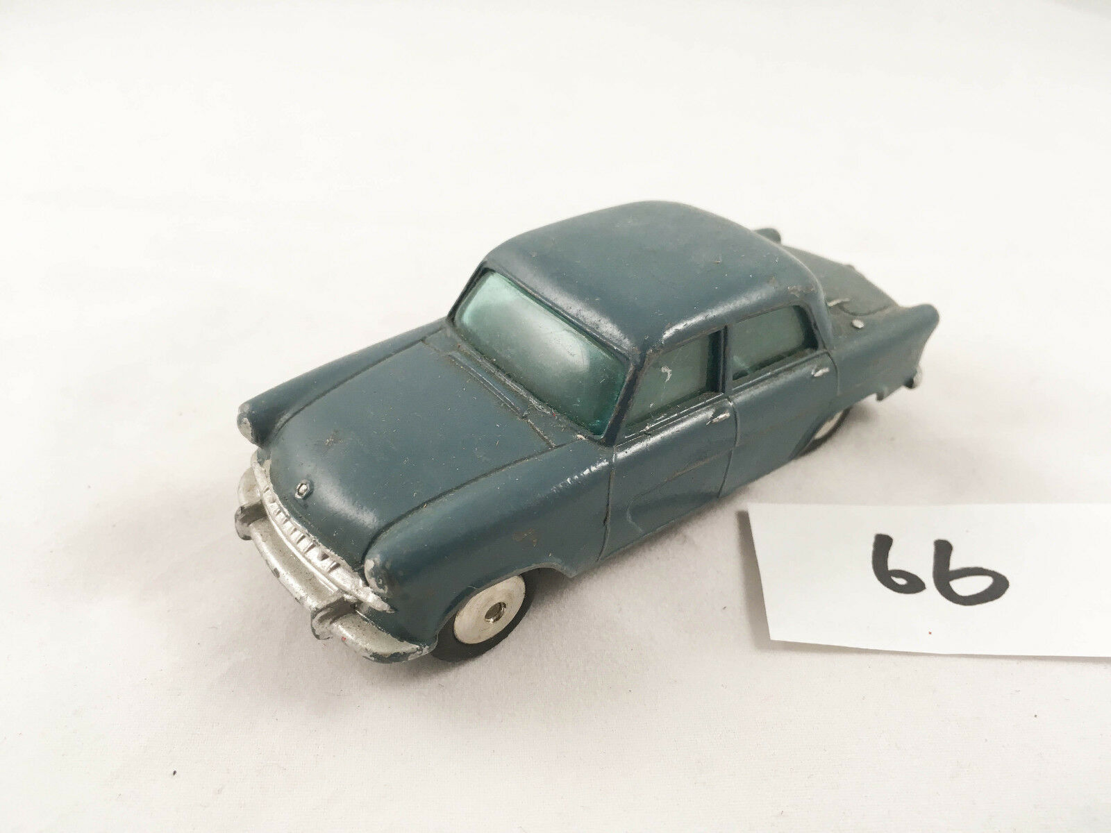 RARE VINTAGE CORGI TOYS STANDARD VANGUARD RAF STAFF CAR DIECAST 1958 blueE