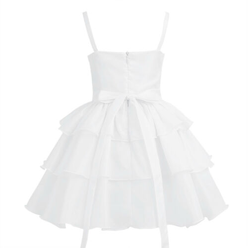 Children Wedding Party Flower Girl Lace Dress Kids Formal Prom Princess Dresses