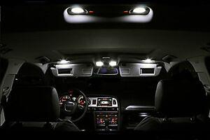 Audi-A3-8L-8L1-Kit-ampoules-a-LED-pour-l-039-eclairage-interieur-habitacle-blanc