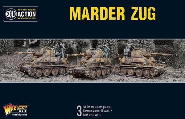 Marder Zug - BOLT AZIONE - Warlord Games WW2