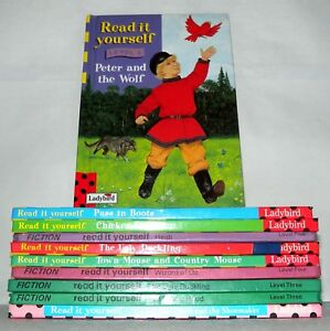 10x-Ladybird-Books-Various-Titles-Hb-034-Read-It-Your-Self-034-Interest-Ref2234b
