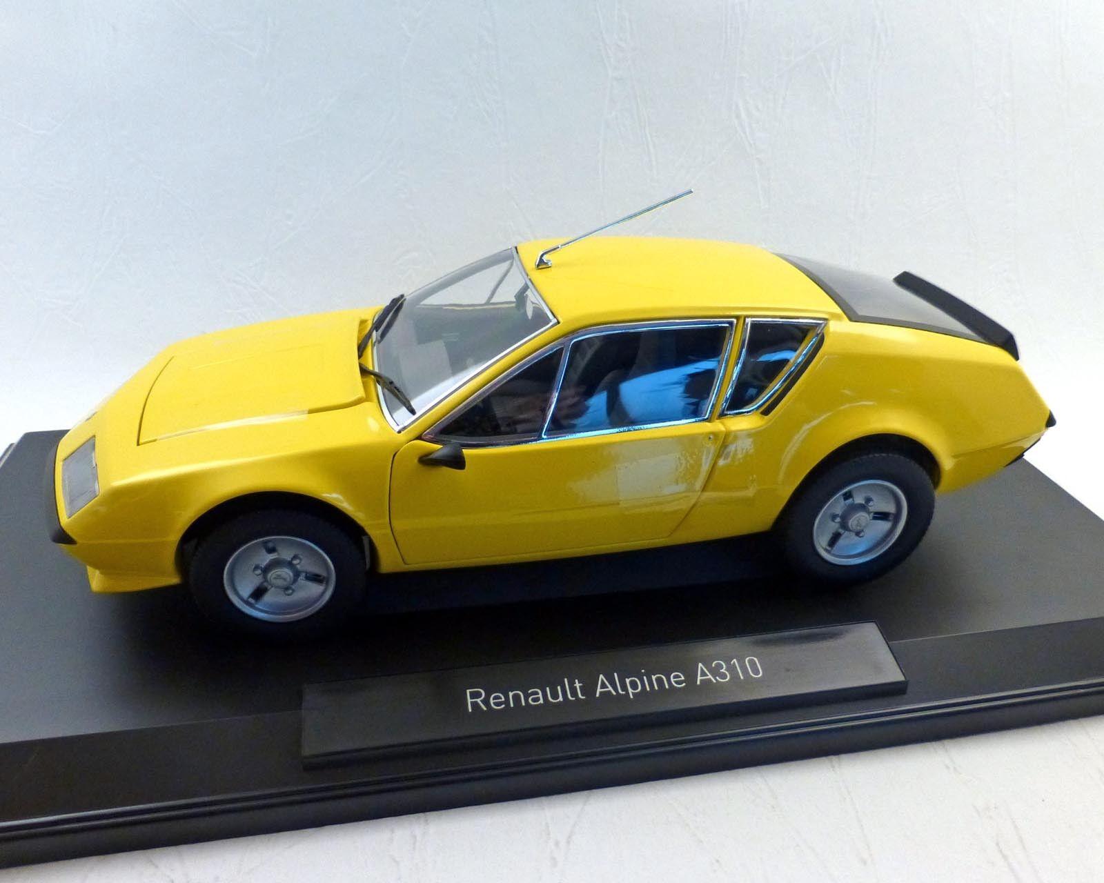 Joyeux noel RENAULT alpine alpine alpine a310 - 1977, jaune, 1:18 - NOREV 0e57d8