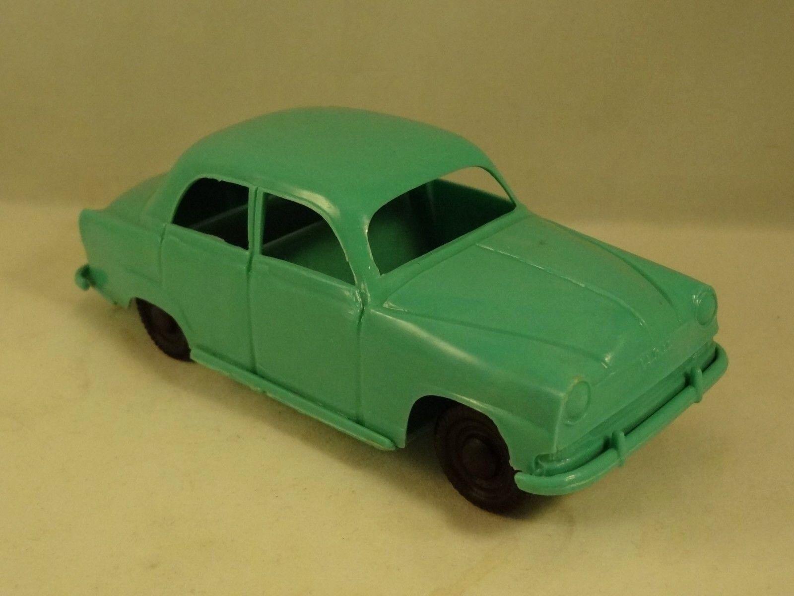 Ancien jouet voiture miniature Simca Aronde friction Création Clé n°7 L  13 cm
