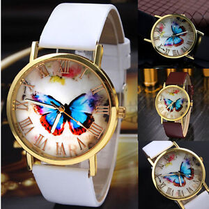 Fashion-Women-Casual-Butterfly-Watches-Leather-Analog-Quartz-Dress-Wrist-Watch