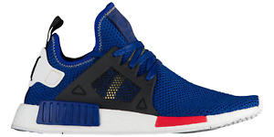 buy online dc413 2a306 Details about Adidas NMD XR1 Mystery Blue AC7185 Red Black Originals Mens