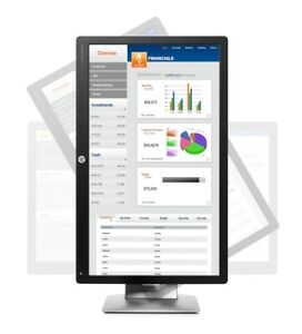 HP EliteDisplay E232 23-Inch Monitor IPS w/LED backlight, 1920x1080 @60Hz, 96PPI