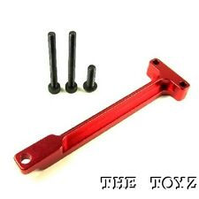 1/16 Traxxas Mini Revo VXL, Summit VXL Aluminum Rear Chassis Brace TOYZ 94 Red