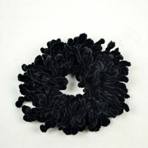 Scrunchie Big Bun Hair Bobble Tie Hijab Scarf Volumising Volumizer Khaleej