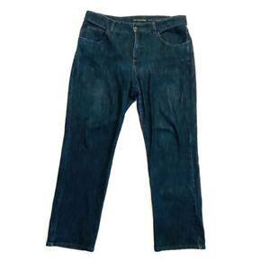 Soft-Surroundings-Jeans-Size-14-Petite-Classic-Straight-Leg-Stretch