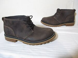 Details about TIMBERLAND A12HY MEN'S GRANTLY CHUKKA BOOT DARK BROWN OILED LEATHER US 7 UK 6.5