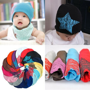 cab23c87490 Kid Boy Girls Child Baby Infant Toddler Kids Cotton Hat Knit Beanie ...