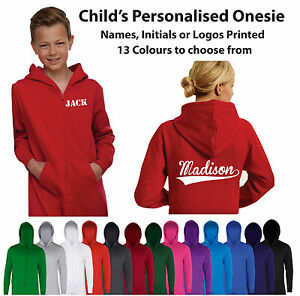 Custom-Printed-Personalised-Child-039-s-Jumpsuit-All-in-One-Kids-One-piece-sie