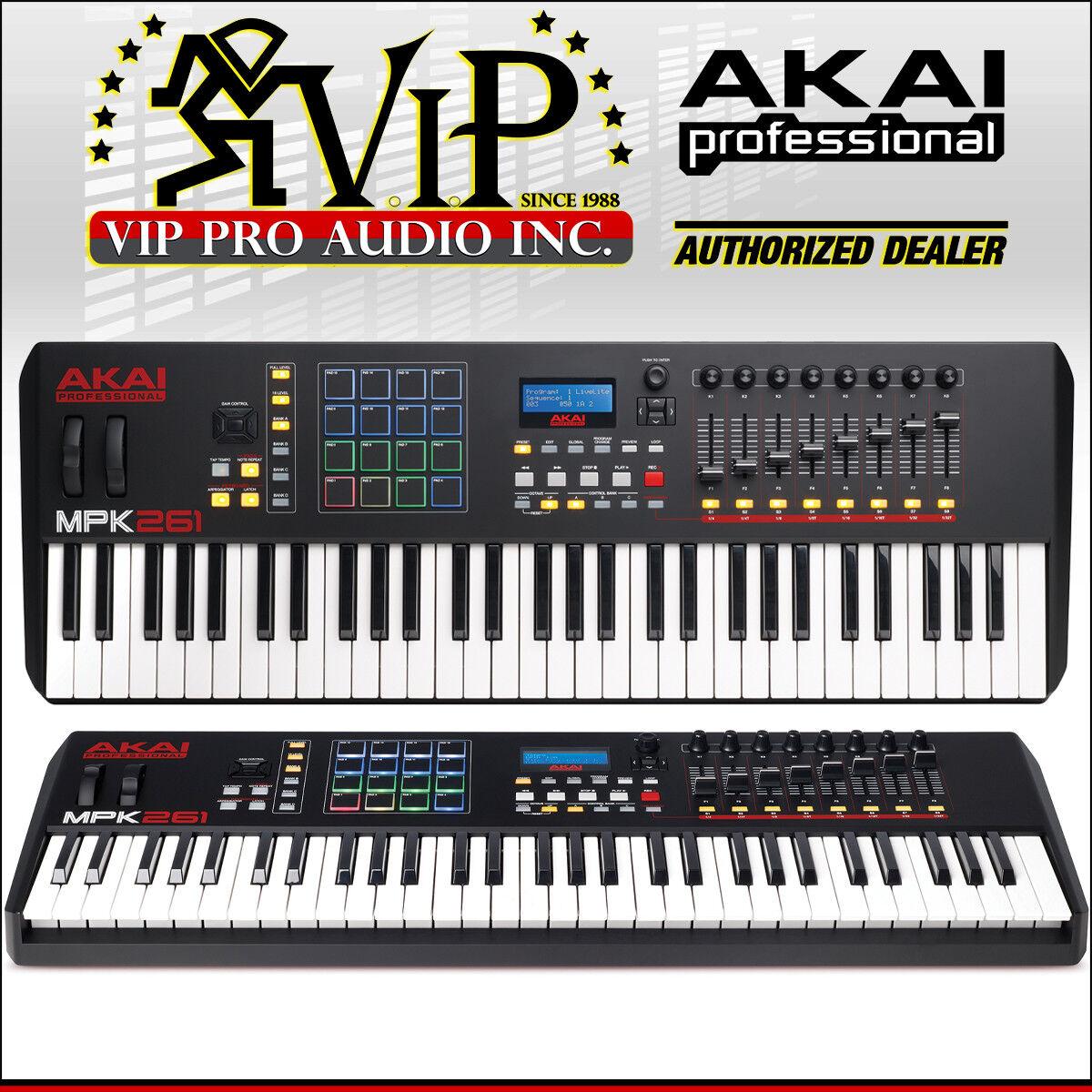 Akai MPK261 61 Keys USB MIDI Drum Pad & Keyboard Controller MPK 261