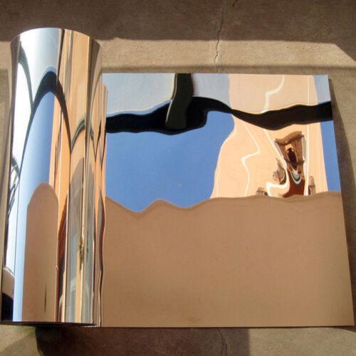 Reflective Mirror Wall Sticker Self-adhesive Bedroom Toilet Porch Auto-Sticker L