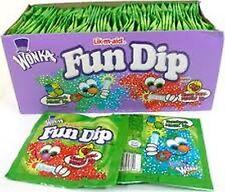 Fun Dip 48 Count Nostalgic Candy Candies Fresh 1 Box