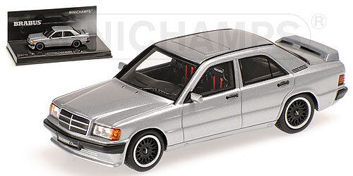Minichamps 437032604 Escala 1 43 ,Brabus Mercedes 190E 3.6S-1989   Nuevo en Emb.