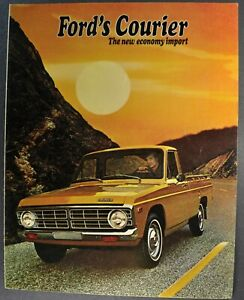 1969 Ford Pickup Bronco Ranchero B-C FL Truck Sales Brochure NOS F-N-W Series