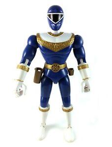 Blue-Zeo-Ranger-III-Vintage-Power-Rangers-8-034-Action-Figure-Bandai-1996-Rocky