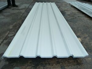 Roofing Sheets Pure White Box Profile Liner Panels Ebay