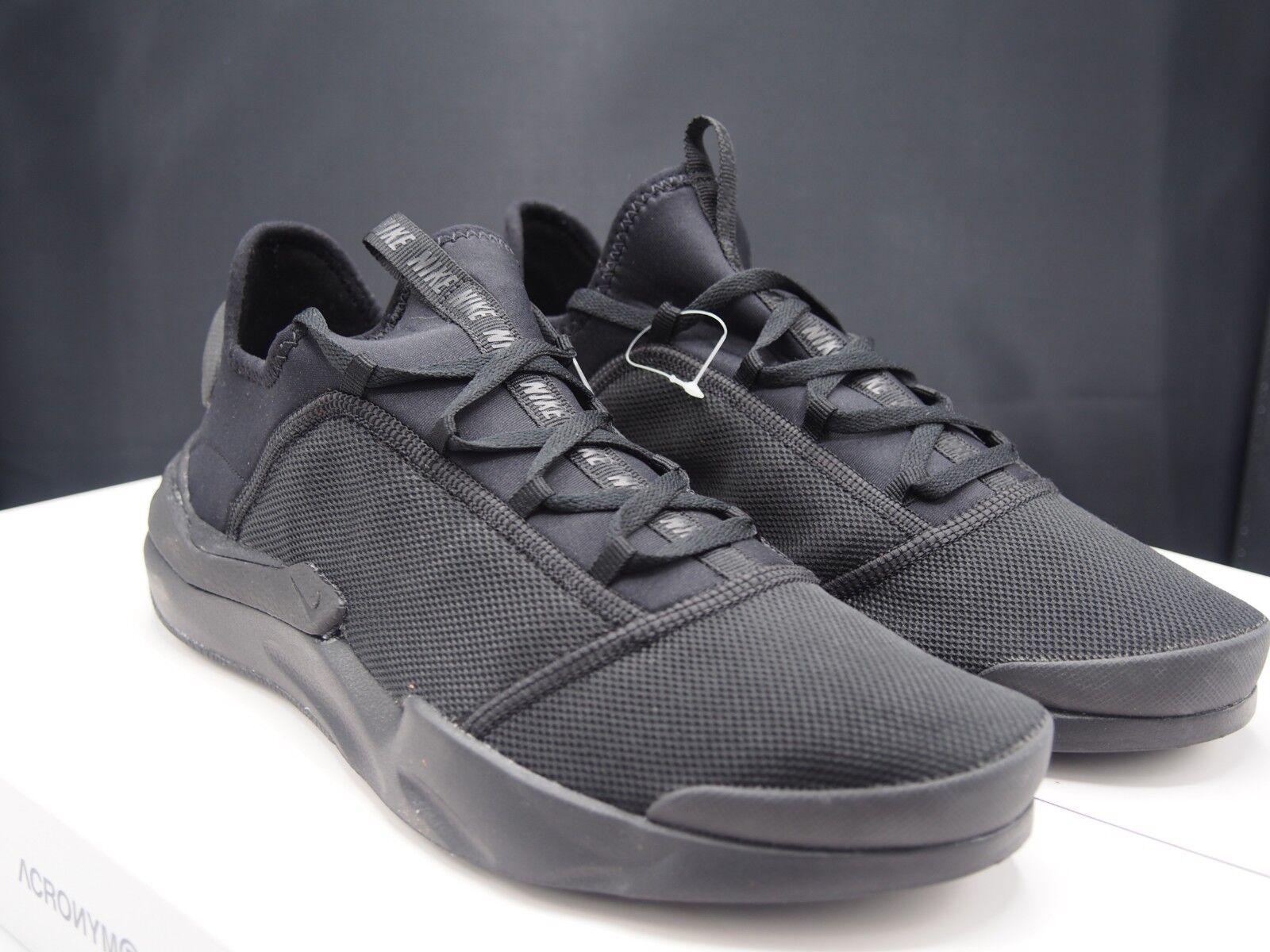 Nike Shift One Triple Black AO1733-003 Men's size 9 US