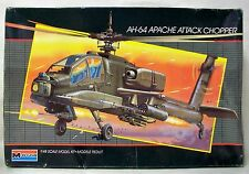 MONOGRAM 1/48, AH-64 APACHE ATTACK CHOPPER, HELICOPTER MODEL KIT
