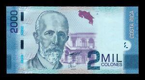 B-D-M Costa Rica 2000 Colones 2009 (2011) Pick 275a SC UNC