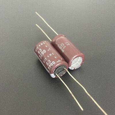 1500MF 6.3V NCC RADIAL ELECTROLYTIC MOTHERBOARD CAPACITOR 10X20MM 10pcs-1500uF