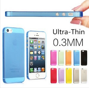 Per-Apple-iPhone-5-5S-COVER-ULTRA-SOTTILE-0-3MM-CUSTODIA-BUMPER-SLIM-CASE-THIN