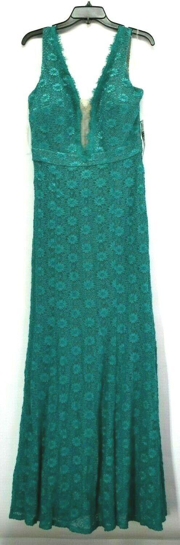 Blau SAGE Größe 14 Robe Turquoise