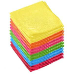 Microfiber-Cleaning-Cloth-Towel-Absorbent-No-Scratch-Polishing-Detailing-Rags