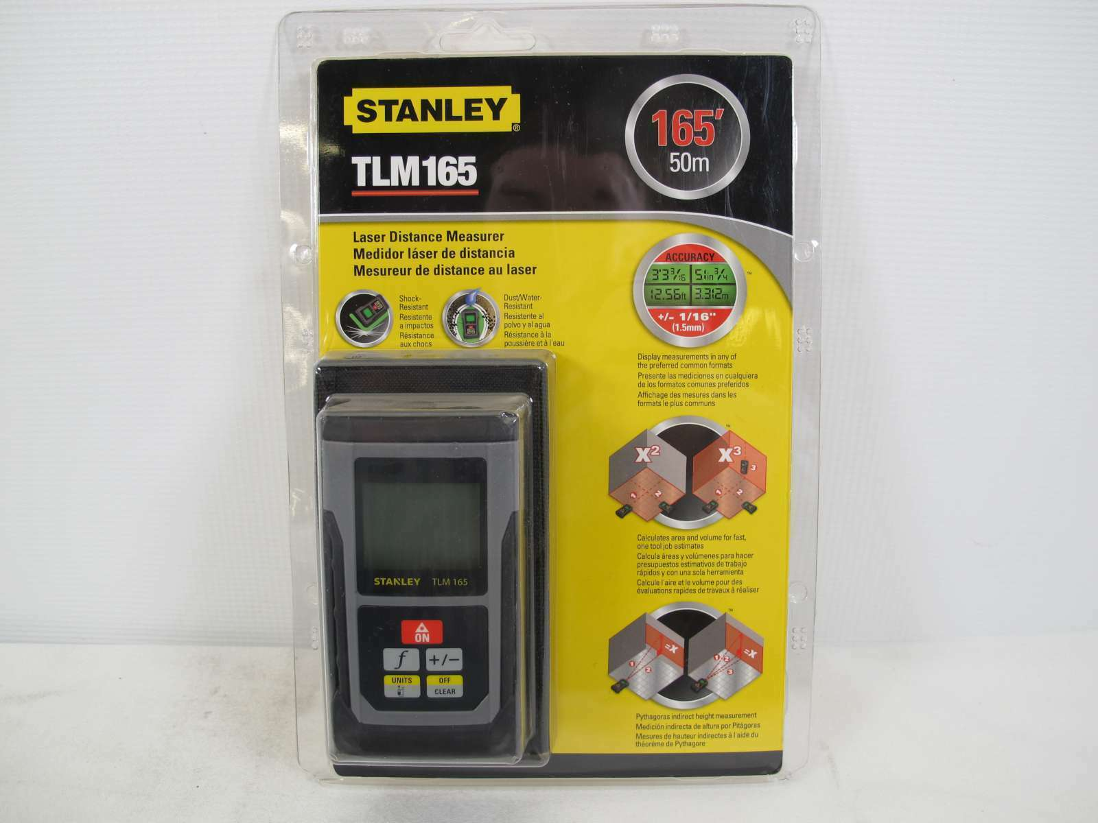 Stanley STHT1-77139 Mesure laser TLM 165 50 m