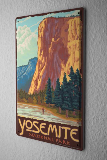 Tin Sign World Tour Yosemite National Park