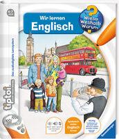 Ravensburger Tiptoi Buch Wieso? Weshalb? Warum? Wir Lernen Englisch 00585