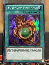 M//NM 1x - Amazoness Heirloom Super Rare 1st Edition YuGiOh DREV-EN087