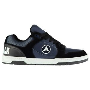 Airwalk-Mens-Throttle-Skate-Shoes-Low-Top-Fashion-Trainers-Lace-Up