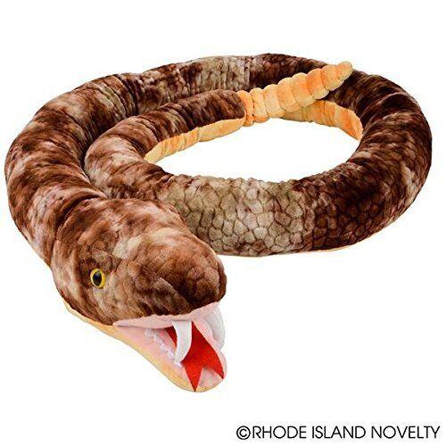 Giant Brown Rattlesnake Plush Toy 110  Long