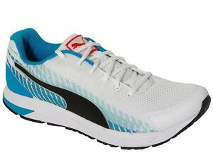 Puma SALE sneakers SEQUENCE V2 WHITE BLACK ATOMIC BLUE 188531