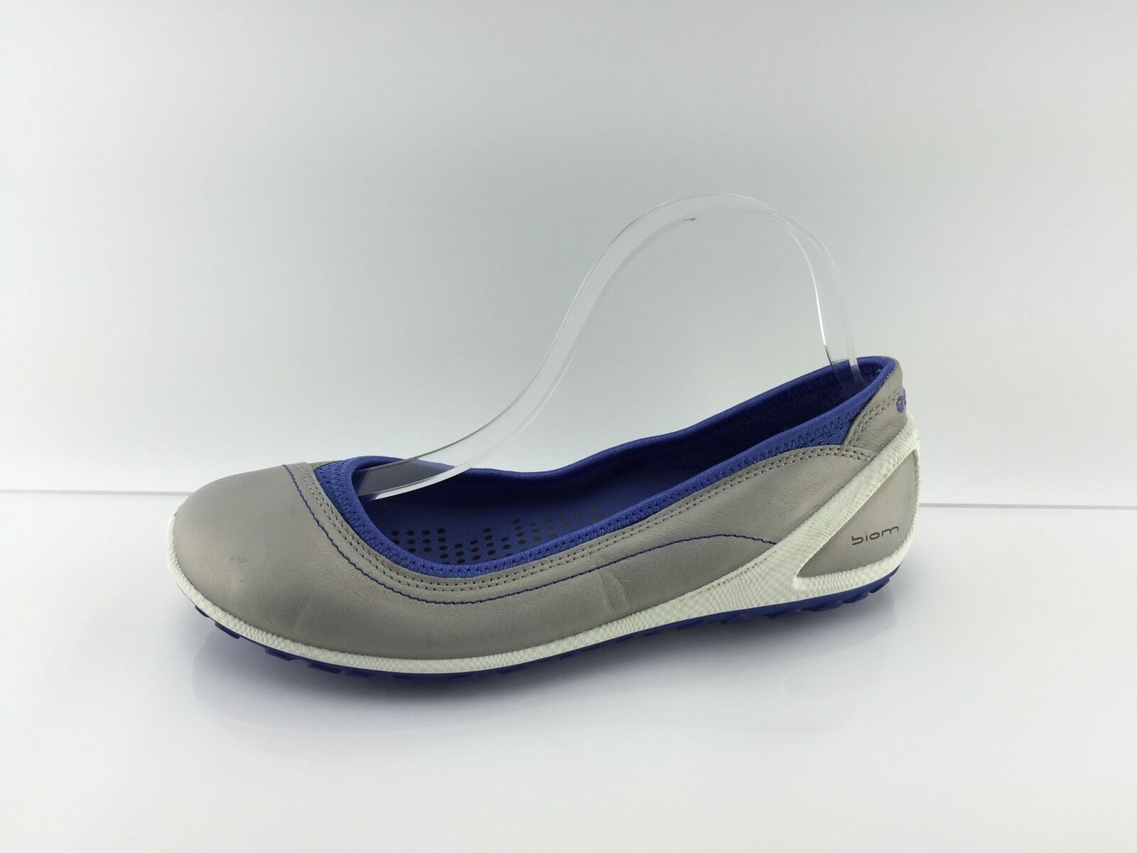 Ecco Biom Wouomo Pewter Multi Coloree Flats 38