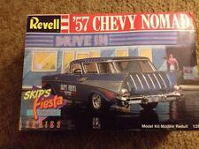 Revell  '57 Chevy Nomad Skip's Fiesta Drive-In Series 7163 1/25 Model Car Kit