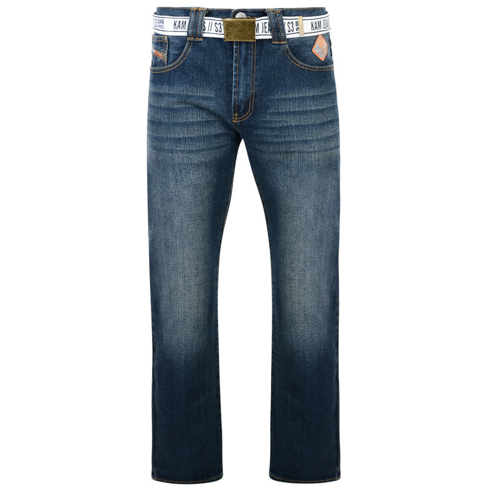 MENS KAM STRAIGHT FIT JEANS