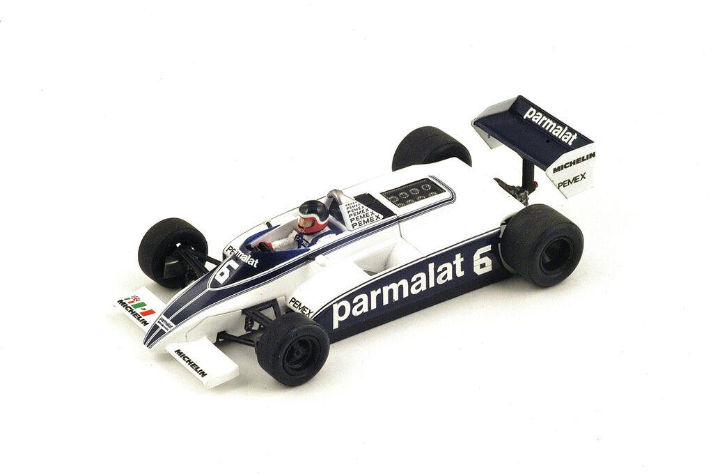 SPARK Brabham BT49C  6 GP Monaco 1981 Hector Rebaque  S4348
