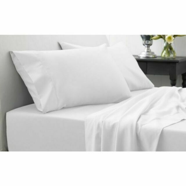 NEW LUXURIOUS 500 THREAD COUNT 100/% EGYPTIAN COTTON DUVET COVER /& PILLOW CASES