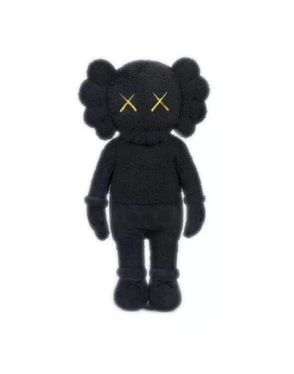 KAWS  vacaciones-Hong Kong 20 20  Pulgadas Peluche (Negro) 100% auténtico vendido Raro  minoristas en línea