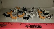 Dr1/64 ERTL FARM TOY QTY OF 25 ASSORTED COLORED GOATS FOR YOUR DISPLAY NEW IN BA