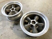 Vintage American Racing Torque Thrust D Wheels Crows 15x7 Chevy Midyear Corvette